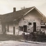 Rock Island Depot Before